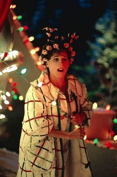 Still of Molly Shannon in How the Grinch Stole Christmas Who Ville Hair Peppermint Candies