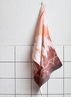 Ish tea towel - Kizuku - Mae Engelgeer