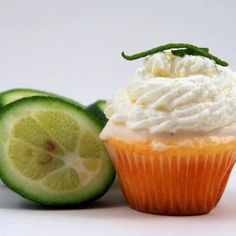 Key Lime Mini Cupcakes by Zettie's Confections