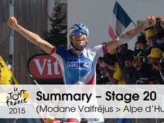 Photo gallery videos stage 20 - Modane Valfréjus > Alpe d'Huez - Tour de France 2015