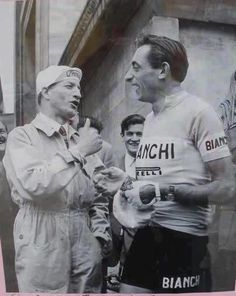There was a time when Bartali and Coppi both lived on this earth together and talked like this all the time.