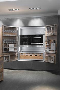 Armoire de rangement pour cuisine - COLONNA CHEF DE CUISINE - TONCELLI
