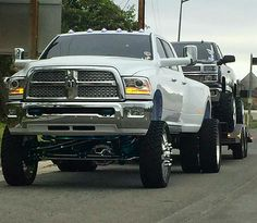 Do you know why a dodge is towing a Chevy. Because Chevy can't go anywhere without a dodge Cummins Diesel Trucks, Dually Trucks, Powerstroke Diesel, Diesel Cars, Big Rig Trucks, Chevy Trucks, Dodge Cummins, Ram Trucks, Lifted Trucks