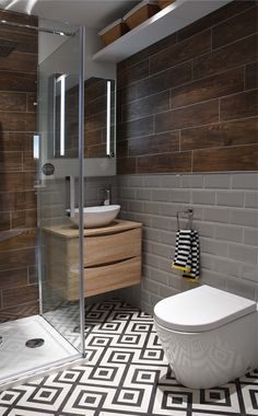 Nordic Wood Dark Brown Wall And Floor Tile pertaining to sizing 810 X 1080 Brown Bathroom Wall Tiles - Bath room tiles can be purchased in all forms, Dark Brown Bathroom, Dark Brown Walls, Light Grey Walls, Brown Wood, Grey Wall Tiles, Wall And Floor Tiles, Small Bathroom Inspiration, Bathroom Design Small, Bathroom Flooring