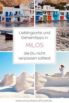 Mondlandschaften, Piratenhöhlen und kochen im Sand...wo es das gibt? In Milos!