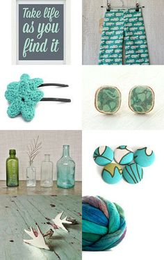 Teal Feel by Eden Kitsch on Etsy--Pinned with TreasuryPin.com