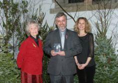 Trevor picks up the BBC Sussex Animal Welfare Award 2012.