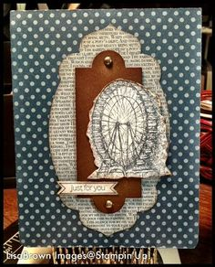 Stampin' Up! Card  by Lisa Brown at ink and inspirations: feeling sentimental masculine card