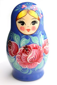 classic matryushka nesting dolls---toddlers love them. you can remove & store the smallest bits so no choking hazard.