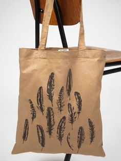 human empire, feather bag brown