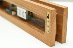 Handmade Oak Wooden Sconce Wall Lamps & Sconces