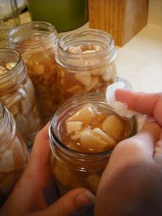 Canning Apple Pie Filling, I have used this one and I love it...