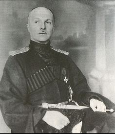 Pavlo Skoropats'kyi (1873-1945), ataman then hetman 1917-1918, from Iryna