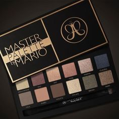 Anastasia Master Palette by Mario for October 2016 | Temptalia | Bloglovin'