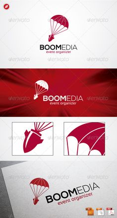 Boomedia Logo #GraphicRiver Boomedia Logo An excellent logo template related to Advertising Company, Creative Agency, Event Organizer, Mass Media, and anything related to Boom Media, Etc. Highly made for those who need a Fast, Strong, Respectful, Memorable , Editable, Simple and Versatile logo. Features : 100 % Vector (AI, EPS, PDF) Editable and Resizable CMYK color mode (for print and web purpose) Full Customizable Font Link Fonts : Nexa Bold/Light Sansation Credits : The...