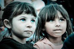 Gypsy kids in Romania