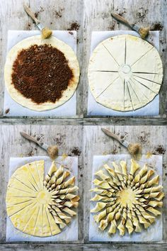 Sunny chocolate, almond and honey pie