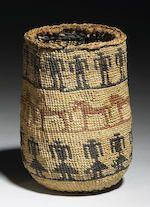Bonhams : A Wasco polychrome sally bag
