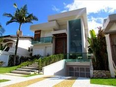 20 Fachadas de casas com entradas principais modernas e imponentes - veja modelos e dicas!: