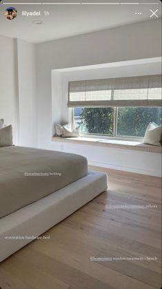 Room Ideas Bedroom, Home Bedroom, Bedroom Decor, Decor Room, Bedrooms, Home Room Design, Dream Home Design, Minimalist Room, Dream Apartment