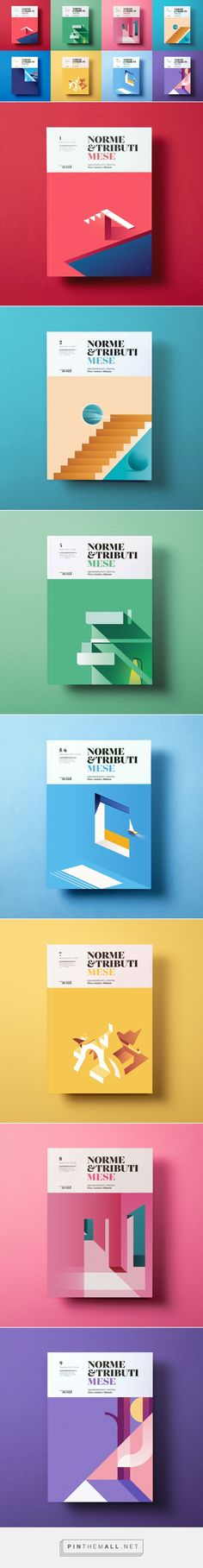 An Italian Economic Revue features better cover designs than most design magazin. Design Editorial, Editorial Layout, Design Graphique, Art Graphique, Graphisches Design, Layout Design, Book Cover Design, Book Design, Modele Word