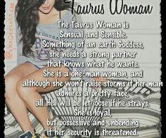 Sensual taurus woman