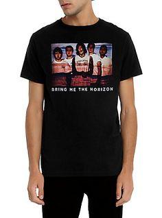 Bring Me The Horizon Photo Lines T-Shirt,