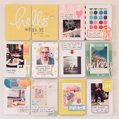 Project Life Week 35 by dearlydee at @studio_calico