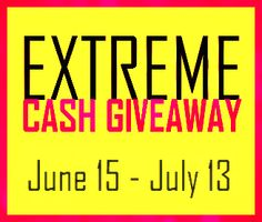 June Extreme Cash #Giveaway $500.00 PayPal Cash Open Worldwide