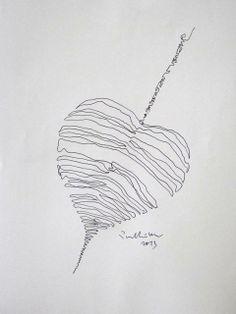Bodhi leaf, line drawing.jpg (480×640)