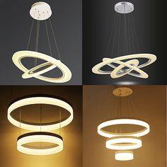 60W-80W Warmweiß LED Kronleuchter Hängeleuchte Pendelleuchte Deckenlampe Lüster