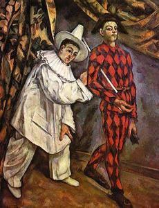 Mardi Gras - (Paul Cezanne)
