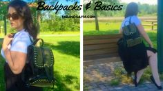 Backpacks & Basics - Recently, one of my favourite bloggers, Zoe from IKIWN, made a post about the tiny backpack trend, and a few other SS16 trends that seemed to come straight out of the 90s. I commented that I was pretty sure I liked everything except the backpacks, Zoe lovingly replied that she enjoyed the nostalgia of the trend and that's when it started to sink in for me. #psblogger