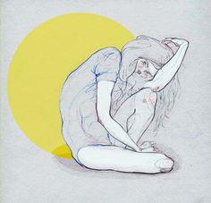 Dots. - Adara Illustrations.// Adara Sánchez