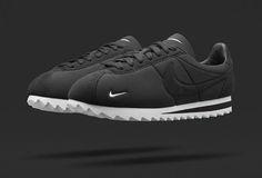 NikeLab Classic BLACK Cortez 'Big Tooth'