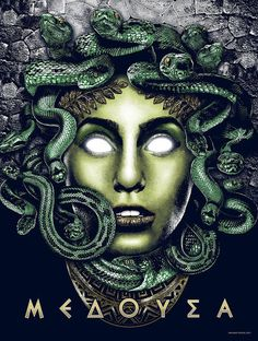 'ΜΕΔΟΥΣΑ (Medusa)' by Anthony Petrie