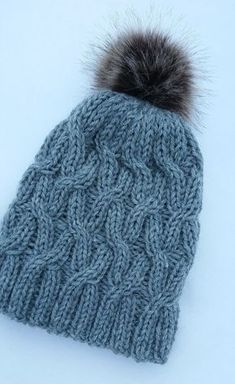 Beanie Hats, Handicraft, Headbands, Needlework, Knitted Hats, Free Pattern, Diy And Crafts, Knit Crochet, Knitting Patterns
