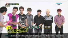 [HD] BEAST Weekly Idol 130821 Eng Sub Part 1/3
