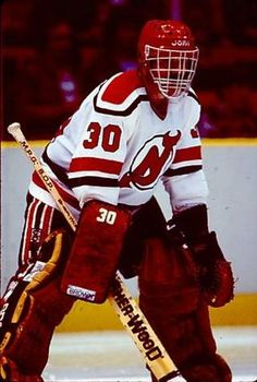 New Jersey Devils goaltending history : Ron Low Hockey Goalie, Hockey Games, Ice Hockey, New Jersey Devils, Nhl, Goalie Mask, Masks, Blood, Play
