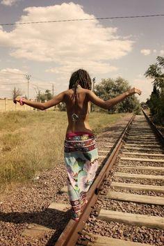 Boho Fashion. I love this pic.