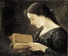 Women Reading in Art, Leopold Batut.