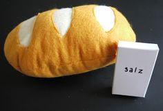 Brot und Salz für den Kaufladen mit Anleitung
