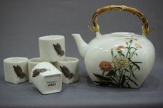 蝶戀花一壺五杯中式茶組禮盒  ♥ NT4800