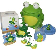 Frogmania Frog Bath Accessories