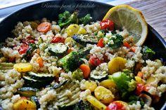 Receitas para a Felicidade!: Salada de Quinoa com legumes Assados
