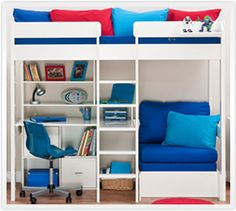 1000 images about funky bunks on pinterest high sleeper mid sleeper bed and mid sleeper - Funky bed frames ...