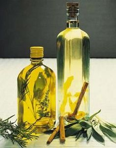 Herb Infused Olive Oil - Try this flavor oil for dipping French Bread or for adding flavor to salads or pastas!