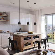 Wood Open Shelves Amazing Scandinavian Kitchen Open Plan Black Low Hanging Lights Geometric Tile Backsplash Small Wooden Traditional Kitchen Island Height Stool Modern White Cabinet Scandinavian Kitchens Ideas & Inspiration