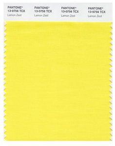 Pantone Lemon Zest