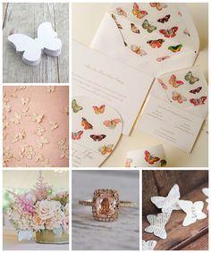 Mariposas en tu boda!
